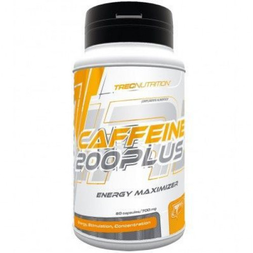 Trec - Caffeine 200 Plus - 60 kapsułek
