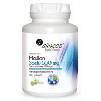 Aliness - Maślan Sodu (Debutir) 550 mg - 100 kapsułek