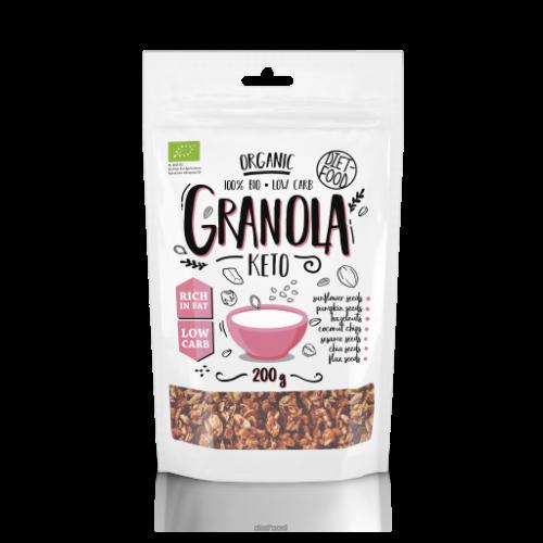 Keto granola BIO - 200 g