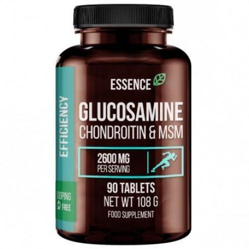 Essence - Glukozamina Chondroityna & MSM - 90 tabletek
