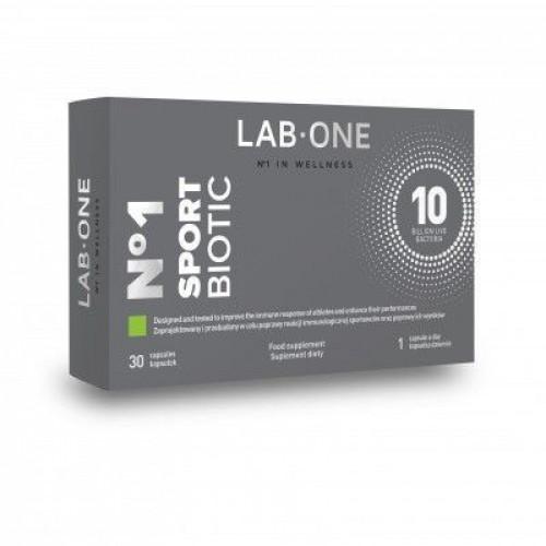 LAB ONE - SportBiotic - 30 kapsułek