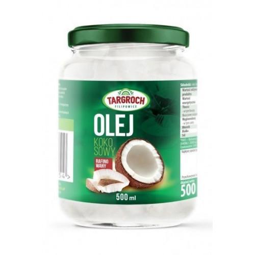 Targroch - Olej kokosowy rafinowany - 500 ml