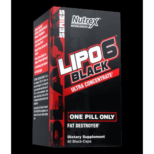 Nutrex - Lipo-6 Black Ultra Concentrate - 60 kapsułek