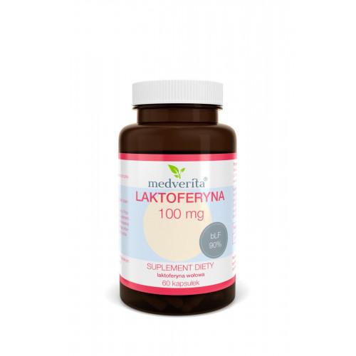 Medverita - Laktoferyna 100 mg - 60 kapsułek