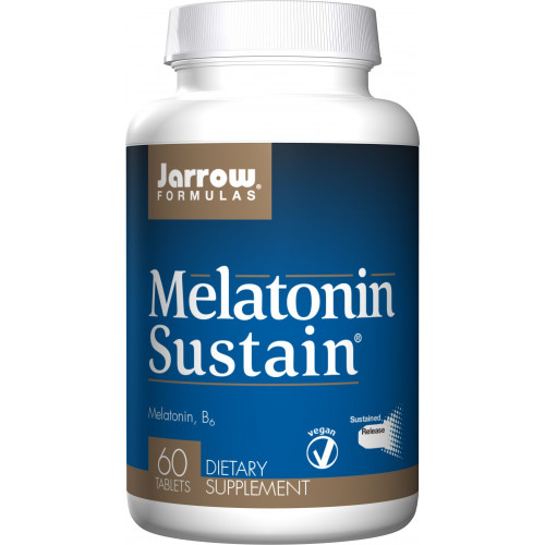 Jarrow - Melatonin Sustain - 60 tabletek