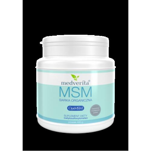 Medverita - MSM siarka organiczna OptiMSM® - 400 g
