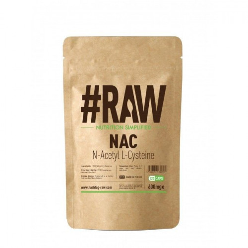 #RAW - N-Acetyl L-Cysteine 600 mg - 120 kapsułek