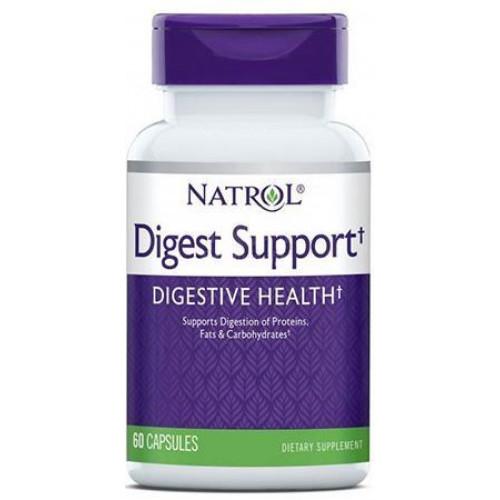 Natrol - Digest Support - 60 kapsułek