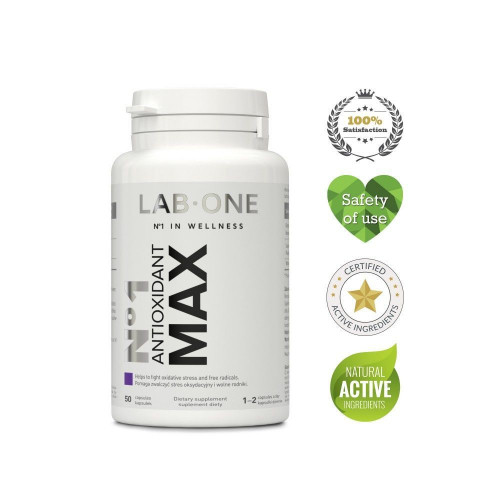 LAB ONE - Antioxidant MAX - 50 kapsułek