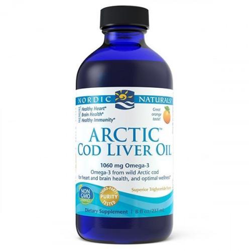 Nordic Naturals - Arctic Cod Liver Oil 1060 mg - 237 ml