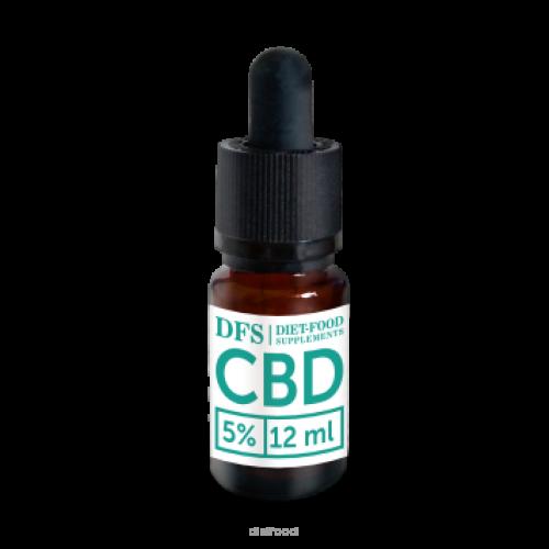Olej CBD 5% - 12 ml