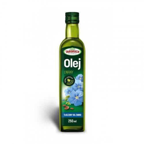 Targroch - Olej lniany - tłoczony na zimno - 250 ml