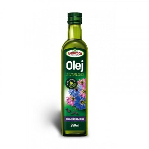 Targroch - Olej z czarnuszki - tłoczony na zimno - 250 ml