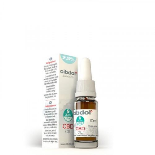Cibdol - Olejek 2,5% 250mg CBD - 10 ml