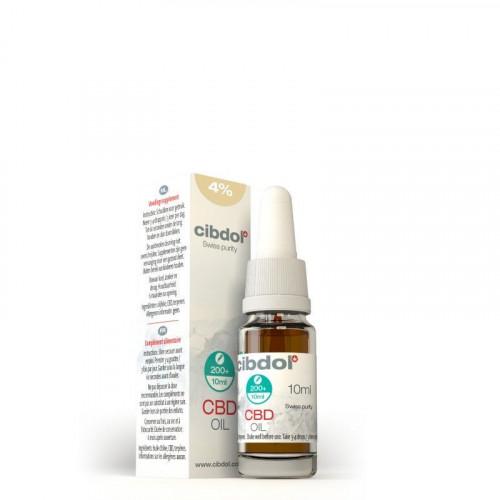Cibdol - Olejek 4% 400mg CBD - 10 ml