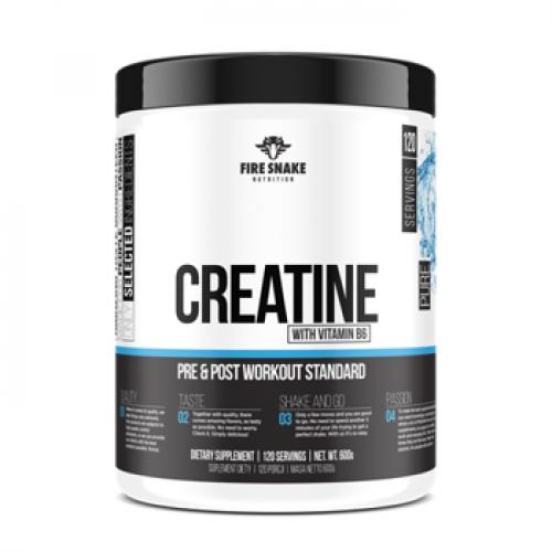 FireSnake - Creatine Powder - 600 g