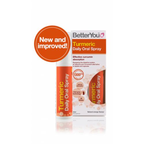 BetterYou - Turmeric Oral Spray - 25 ml