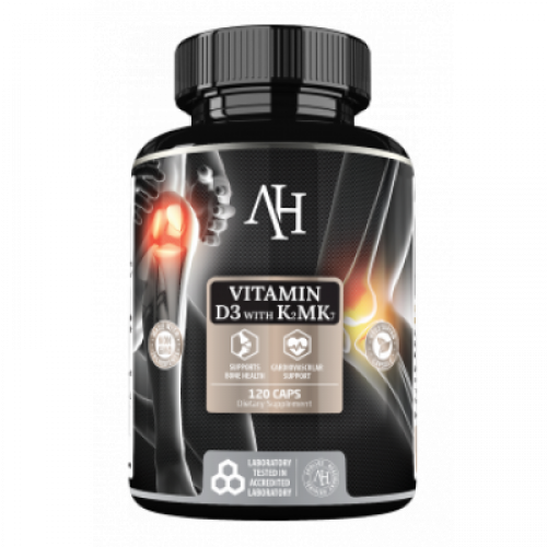 Apollo's Hegemony - Vitamin D3 K2 MK7 - 120 kapsułek