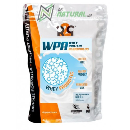 R2G - WPA Whey Protein Acidophilus - 500 g