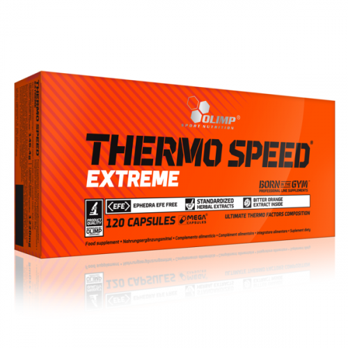 Olimp - Thermo Speed Extreme - 120 kapsułek