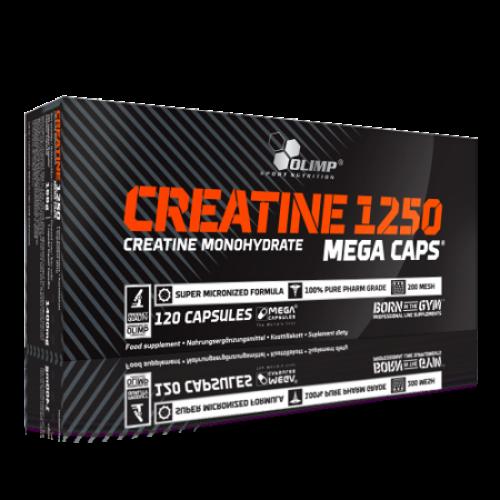 Olimp - Creatine 1250 MEGA CAPS - 120 kapsułek