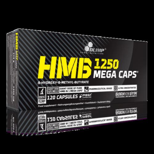 Olimp - HMB 1250 Mega Caps - 120 kapsułek