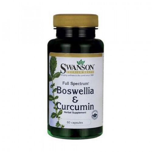 Swanson - Boswellia & Curcumin - 60 kapsułek