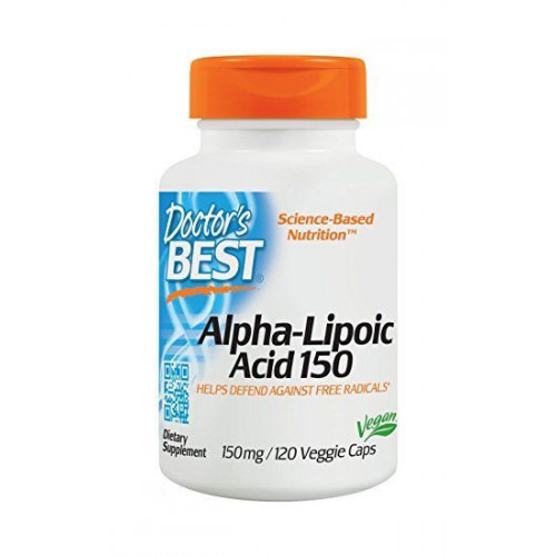 Doctor's Best - Best Alpha Lipoic Acid 150 mg - 120 kapsułek