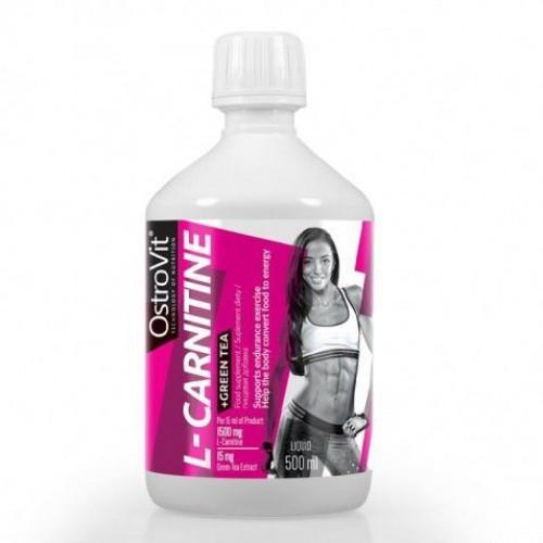 OstroVit - L-Carnitine + Green Tea - 500 ml