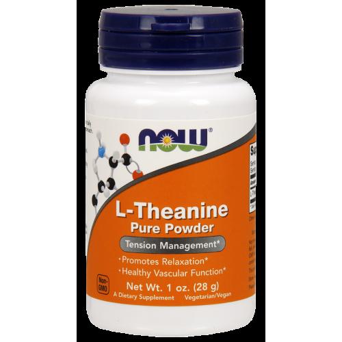 NOW - L-Theanine Powder - 28 g