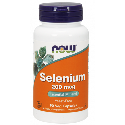 NOW - Selenium 200 mcg - 90 kapsułek
