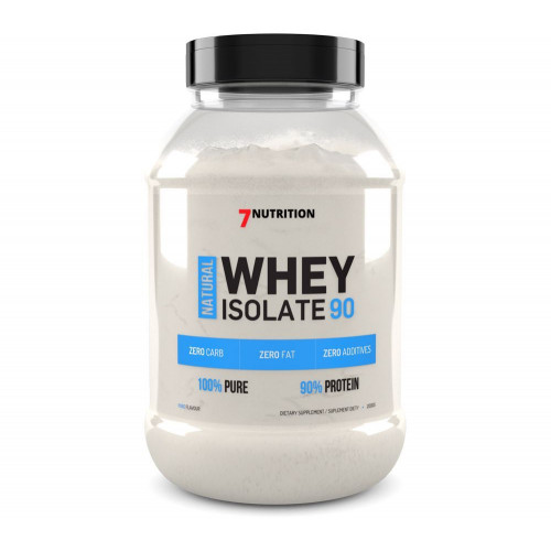 7Nutrition - Natural Whey Isolate 90 - 500 g