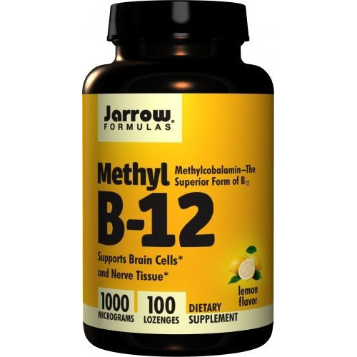 Jarrow - Methyl B-12 1000 mcg - 100 tabletek