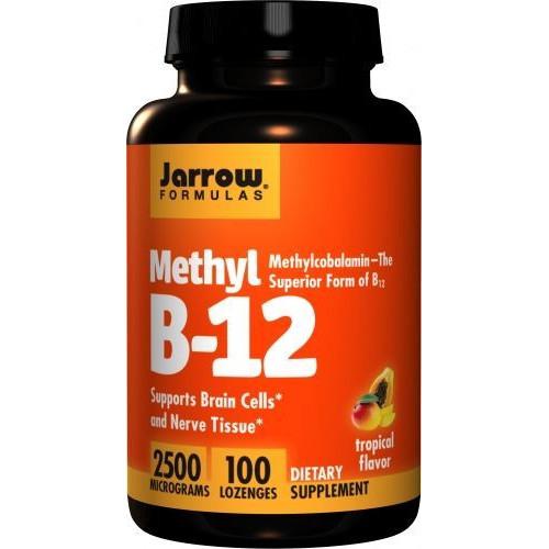 Jarrow - Methyl B-12 2500 mcg - 100 tabletek