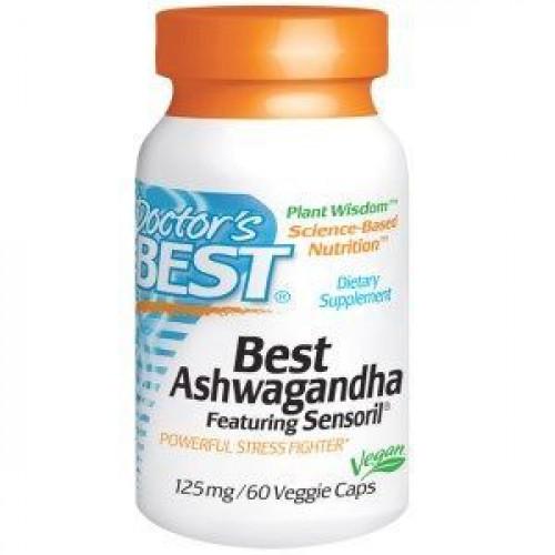 Doctor's Best - Best Ashwagandha - 60 kapsułek