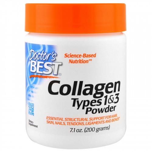 Doctor's Best - Best Collagen Types 1 & 3 Powder - 200 g