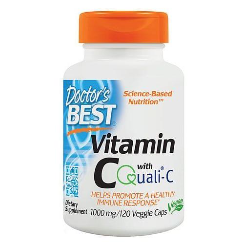 Doctor's Best - Best Vitamin C with Quali-C 1000 mg - 120 kapsułek