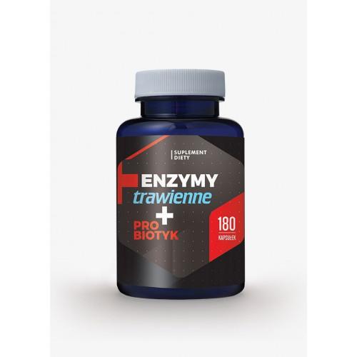 Hepatica - Enzymy + Probiotyk - 180 kapsułek