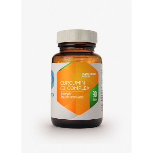 Hepatica - Curcumin C3 Complex - 90 kapsułek