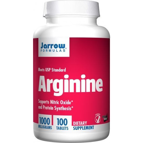Jarrow - Arginine 1000mg - 100 tabletek