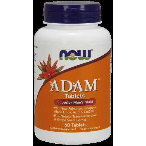 NOW - ADAM Multi-Vitamin for Men - 60 tabletek