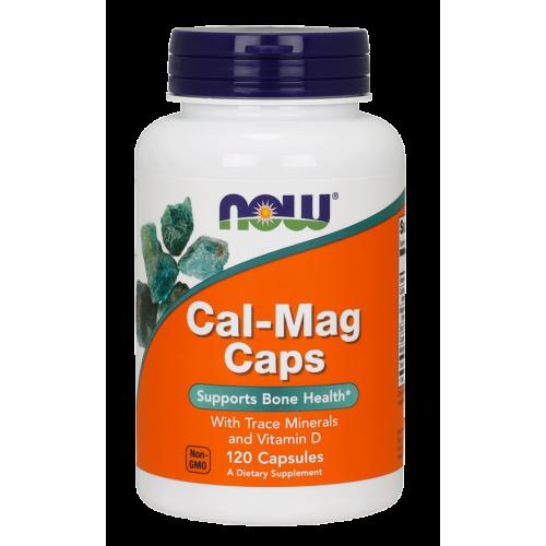 NOW - Cal-Mag Caps - 120 kapsułek