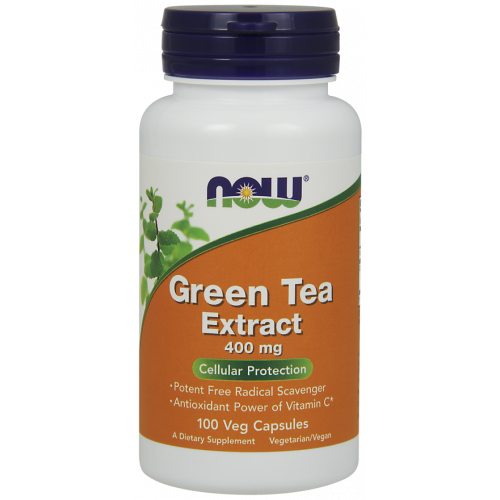 NOW - Green Tea Extract 400 mg - 100 kapsułek