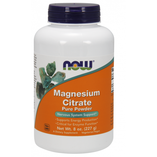 NOW - Magnesium Citrate Pure Powder - 227 g