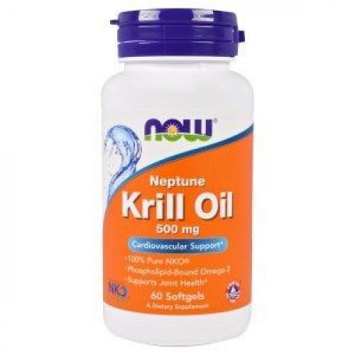 NOW - Neptune Krill Oil 500 mg - 60 kapsułek