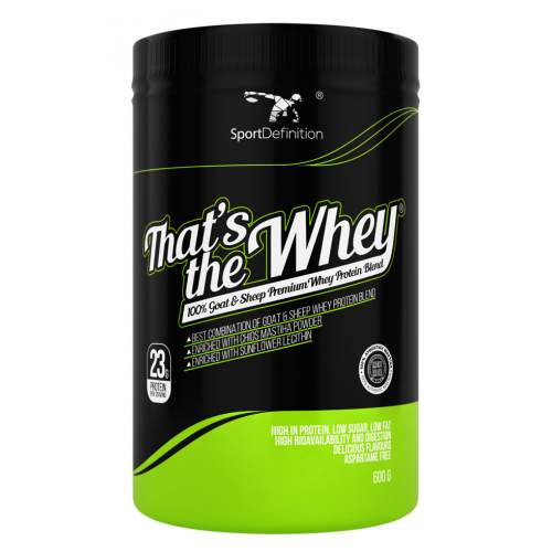 Sport Definition - That's the Whey 100% Goat & Sheep Premium Whey Protein Blend - 600 g