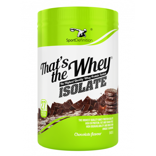 Sport Definition - That's the Whey ISOLATE - 600g