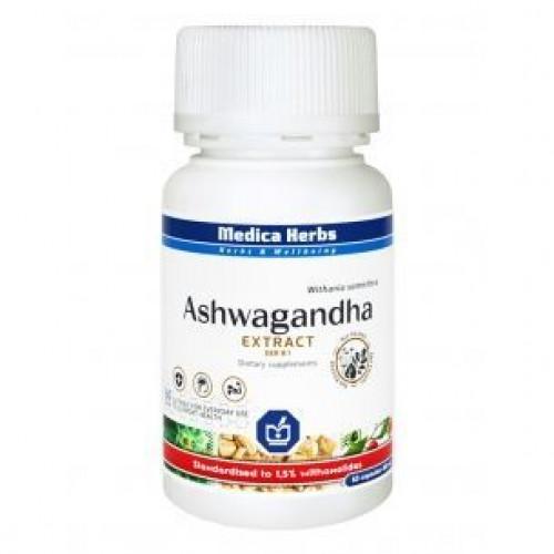 Medica Herbs - Ashwagandha - 60 kapsułek