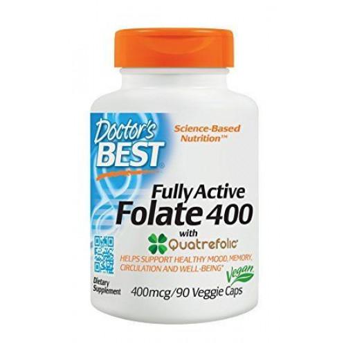 Doctor's Best - Fully Active Foliate 400 - 90 kapsułek
