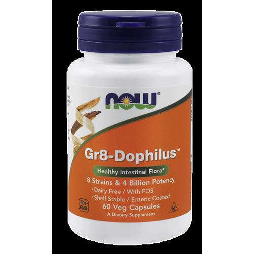 NOW - Gr8-Dophilus - 60 kapsułek